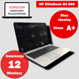 Laptop HP EliteBook G3 850 i7 16GB 240GB SSD IntelHD Windows 10