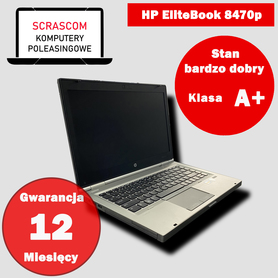 Laptop HP EliteBook 8470p i5 8GB 120GB SSD IntelHD Windows 10
