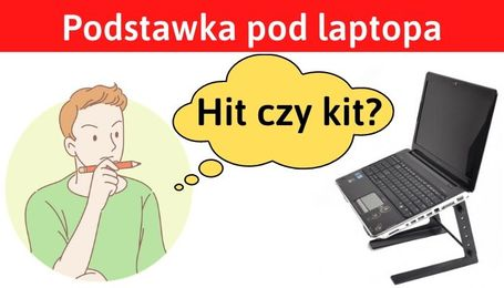Podkładka chłodząca pod laptopa