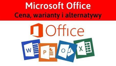 Ile kosztuje Microsoft Office