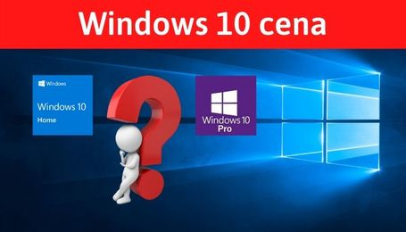 Windows 10 Home cena