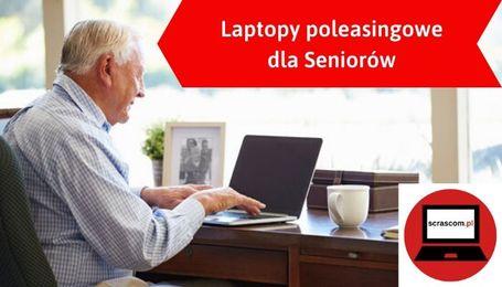 Laptop i telefon dla seniora