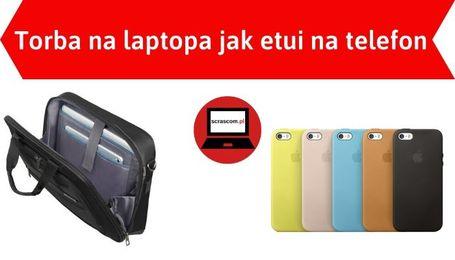 Damska torba na laptopa jak etui na telefon