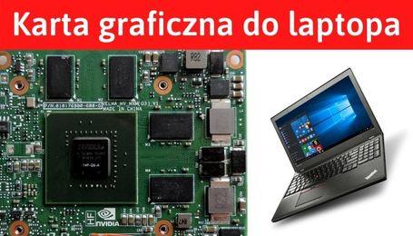 Zewnętrzna karta graficzna do laptopa