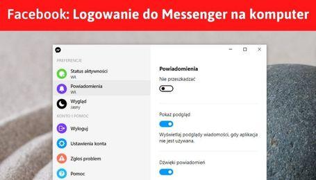 FB Messenger na komputer