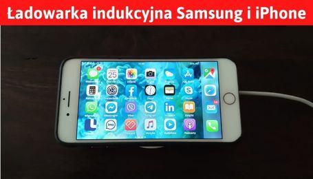 Ładowarka bezprzewodowa Samsung i iPhone