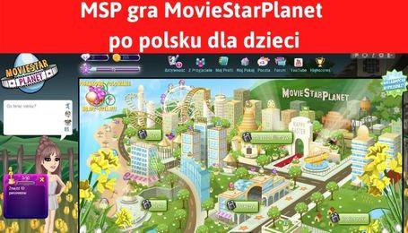 MSP Polska gra MovieStarPlanet