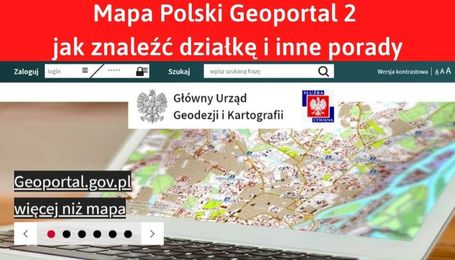 Geoportal 2 mapa polski lidar