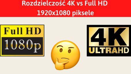 Rozdzielczość Full HD czy 4K