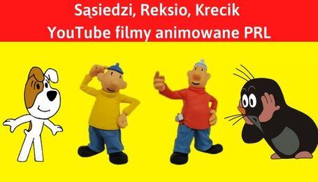 YouTube filmy animowane Sąsiedzi, Reksio, Krecik