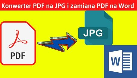 PDF to Word i PDF to JPD konwerter