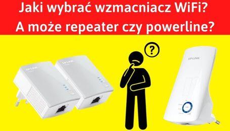Wzmacniacz WiFi czy repeater WiFi Powerline