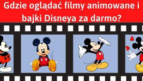 Bajki dla dzieci i filmy Disneya za darmo