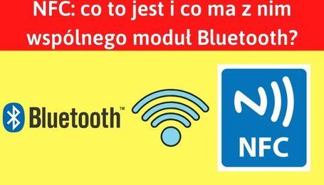 Moduł Bluetooth i NFC w telefonie