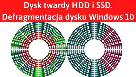 Defragmentacja Windows 10 i dysk twardy HDD