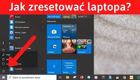 Reset laptopa i baterii w laptopie